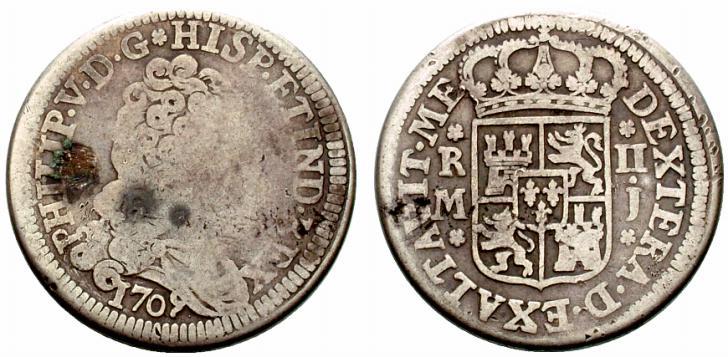 Guía de los reales de a 2, Cecas Peninsulares (1701-1771) - Página 2 Spa820